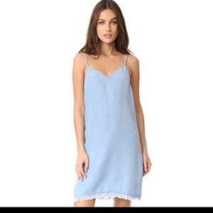 Splendid Womens Slip Dress Chambray